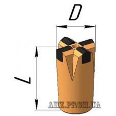Коронка буровая БКПМ-КМ56х25